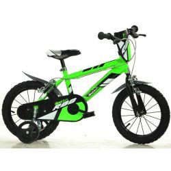 "DINO Bikes - Kids bike 14 ""414UZ - green 2017"