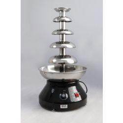 Fontaine à chocolat CF ProEdition - Qualité commerciale, tout en acier inoxydable, hauteur de tour de 510 mm