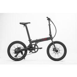 """Hoobike Vélo Électrique Pliant, 250 W, 36V 5,2Ah Lithium - Ion UL Batterie amovible certifiée, roues 20 """", freins à disque, poids 14 kg"""