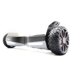 """Hooboard GO! 6,5"""" Gyroskate tout terrain auto-equilibré, Certifié UL, Batterie LG, IPX4, étanche à l'eau et à la poussière"""