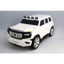 Enfants à tirer sous licence Mercedes-Benz Ener-G-Force Bagages - Petit sac de voyage blanc